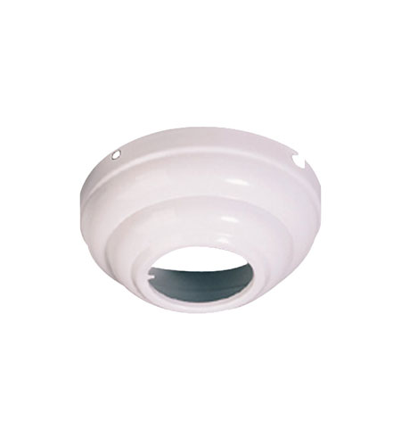 Monte Carlo Fan Company Slope Ceiling Canopy Adapter Fan Accessory in White MC95WH photo