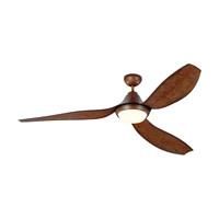 Monte Carlo Fans 3AVMR64KOAD Avvo Max 64 inch Koa Indoor-Outdoor Ceiling Fan