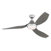 Monte Carlo Fans 3AVOR56GRYD-V1 Avvo 56 inch Grey Indoor-Outdoor Ceiling Fan