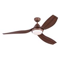 Monte Carlo Fans 3AVOR56KOAD-V1 Avvo 56 inch Koa Indoor-Outdoor Ceiling Fan