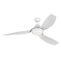 Monte Carlo Fans 3AVOR56RZWD-V1 Avvo 56 inch Matte White Indoor-Outdoor Ceiling Fan