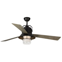 Monte Carlo Fans 3BTR54ANBZD Boynton 54 inch Antique Bronze with Light Grey Weathered Oak Blades Outdoor Ceiling Fan