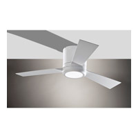 Clarity II 42 inch Rubberized White Ceiling Fan