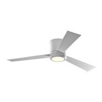 Monte Carlo Fans 3CLYR52RZWD-V1 Clarity 52 inch Matte White with Matte White/Matte White Blades Indoor Ceiling Fan