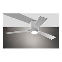 Monte Carlo Fans 3CLYR52RZWD Clarity 52 inch Rubberized White Ceiling Fan