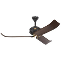 Monte Carlo Fans 3CPR60ATIHAB Cupra 60 inch Antique Iron and Hand-Rubbed Antique Brass with Dark Walnut Blades Indoor Ceiling Fan