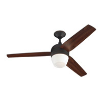 Monte Carlo Fan Company Merlot 1 Light Fan in Roman Bronze 3MRR52RBD