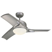 Monte Carlo Fans 3MTR38TMO-V1 Mach Two 38 inch Titanium and Matte Opal with Titanium ABS Blades Indoor Ceiling Fan
