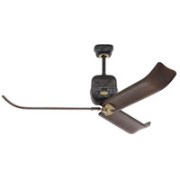 Monte Carlo Fans 3VLR60ATIHAB Volta 60 inch Antique Iron and Hand-Rubbed Antique Brass with Dark Walnut Blades Indoor Ceiling Fan