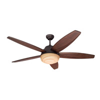 Monte Carlo Fan Company Anglia 3 Light Fan in Roman Bronze 5AGR56RBD