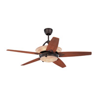 Arch 60 inch Roman Bronze with Teak Veneer Blades Ceiling Fan