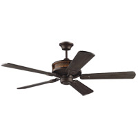 Artizan 56 inch Roman Bronze with Walnut Blades Ceiling Fan