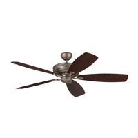 Bonneville Max 60 inch Brushed Pewter with Silver Blades Ceiling Fan