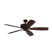 Bonneville Max 60 inch Roman Bronze with Bronze and American Walnut Blades Ceiling Fan