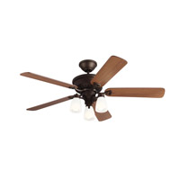 Bravo 52 inch English Bronze with Maple Blades Ceiling Fan