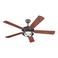 Monte Carlo Fan Company Burnet 3 Light Fan in Roman Bronze 5BR52RBD