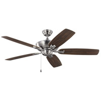 Colony Max 52 inch Brushed Steel with Silver Blades Indoor-Outdoor Ceiling Fan
