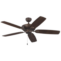 Monte Carlo Fans 5COM52RB Colony Max 52 inch Roman Bronze with Bronze Blades Indoor-Outdoor Ceiling Fan