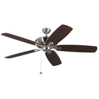Colony Super Max 60 inch Brushed Steel with American Walnut Blades Ceiling Fan