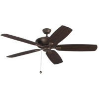 Colony Super Max 60 inch Roman Bronze with American Walnut Blades Ceiling Fan