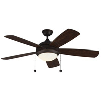 Monte Carlo Fans 5DIC52RBD Discus Classic 52 inch Roman Bronze Indoor Ceiling Fan