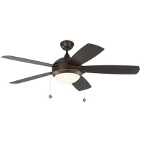 Discus 52 inch Roman Bronze Outdoor Ceiling Fan