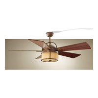 Dakota Heritage Bronze Ceiling Fan