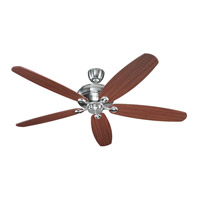 Monte Carlo Fan Company Embassy Fan in Brushed Steel 5EM68BS