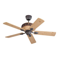 Monte Carlo Fan Company Great Lodge Fan in Weathered Iron 5GL52WI