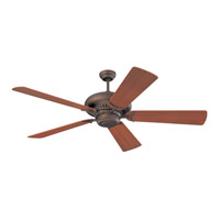 Grand Prix 60 inch Roman Bronze with Teak Blades Fan
