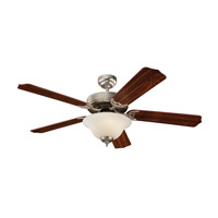 Monte Carlo Fan Company Homeowner Max Plus 2 Light Fan in Brushed Pewter 5HM52BPD photo thumbnail