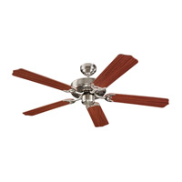 Monte Carlo Fan Company Homeowner Max Fan in Brushed Steel 5HM52BS