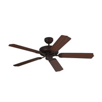 Homeowner Max 52 inch Roman Bronze with Bronze and American Walnut Blades Ceiling Fan