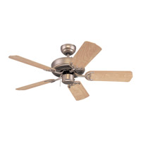 Monte Carlo Fan Company Homeowner Select II Fan in Brushed Pewter 5HS42BP photo thumbnail