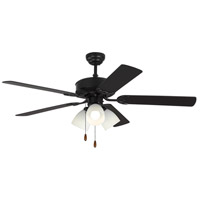 Monte Carlo Fans 5HV52BKF Haven 52 inch Matte Black with Black Blades Indoor Ceiling Fan