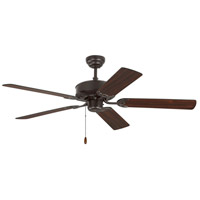 Monte Carlo Fans 5HV52BZ Haven 52 inch Bronze with Bronze and American Walnut Blades Indoor Ceiling Fan