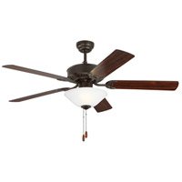 Monte Carlo Fans 5HV52BZD Haven 52 inch Bronze with Bronze and American Walnut Blades Indoor Ceiling Fan