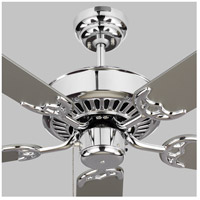 Monte Carlo Fans 5HV52CH Haven 52 inch Chrome with Silver and American Walnut Blades Indoor Ceiling Fan alternative photo thumbnail