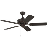 Haven 44 inch Bronze Outdoor Ceiling Fan