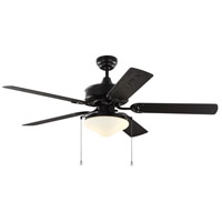 Monte Carlo Fans 5HVO52BKD Haven 52 inch Matte Black with Black ABS Blades Outdoor Ceiling Fan
