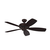 Light Cast Max 52 inch Roman Bronze with Bronze and American Walnut Blades Ceiling Fan