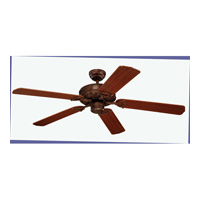 Monte Carlo Fan Company Ornate Fan in Tuscan Bronze 5OR52TB