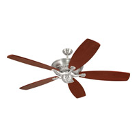 Monte Carlo Fan Company St. Ives Fan in English Pewter (Blades Sold Separately) 5SIEP