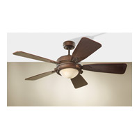 Monte Carlo Vintage Industrial 2 Light Ceiling Fan in Roman Bronze 5VIR52RBD