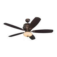 Monte Carlo Fan Company Weatherstar 2 Light Fan in Roman Bronze 5WS52RBD-L