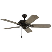 Monte Carlo Fans 5YK52AGP York 52 inch Aged Pewter with Light Grey Weathered Oak Blades Indoor Ceiling Fan