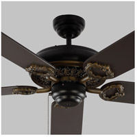 Monte Carlo Fans 5YK60BK York 60 inch Matte Black with Black Blades Indoor Ceiling Fan alternative photo thumbnail