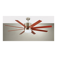 Monte Carlo Araya LED Ceiling Fan in Brushed Steel 8ARR58BSD