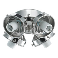Monte Carlo Fan Company 2.25in Neck 3 Light Fitter in Polished Nickel H4PN