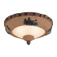 Monte Carlo Fan Company Wilderness Bowl 3 Light Light Kit in Tan Scavo MC102-L
